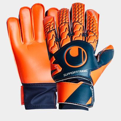 Uhlsport Next Level, soutien léger, gants de gardien de but pour enfants