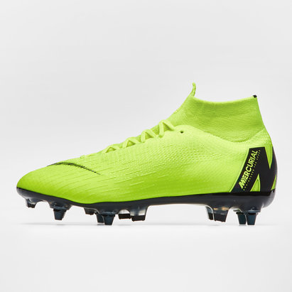 Nike Mercurial Superfly VI Elite, Crampons de Football Pro AC, Terrain mou