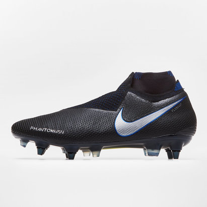 Nike Phantom Vision Elite D-Fit, Crampons de Football Pro, Terrain mou