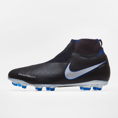 Nike Phantom Vision, Crampons de Football Elite D-Fit pour enfants, Terrain sec/Multisurface