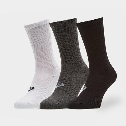 Asics Crew Sports, Lot de 3 paires de chaussettes