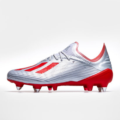 adidas X 19.1 Crampons de Football, Terrain mou