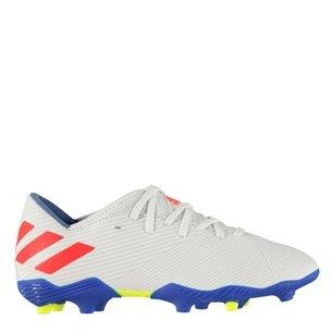adidas Nemezis Messi 19.3, Crampons de Football pour enfants, Terrain sec