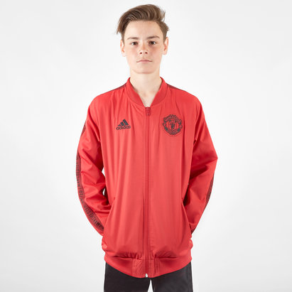 adidas Veste de football Anthem pour enfants, Manchester United 2019/2020
