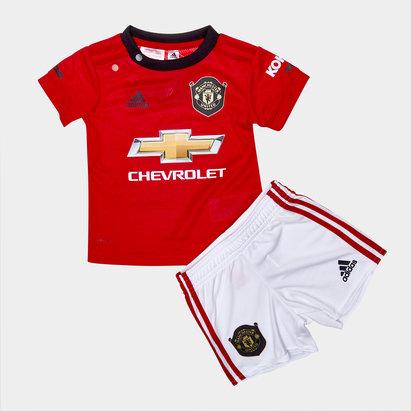 adidas Mini Kit de Football pour enfants , Manchester United 2019/2020 réplique domicile
