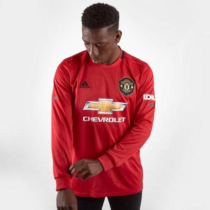 adidas Maillot Réplica manches longues, Manchester United 2019/2020 Domicile