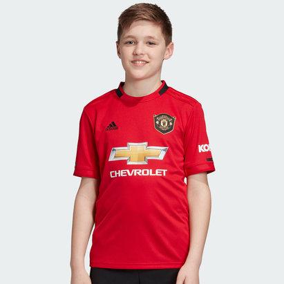 adidas Maillot domicile Manchester United 2019/2020. Maillot réplique pour enfants