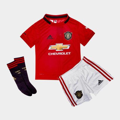 adidas Mini Kit de Football pour enfants jeune, Manchester United 2019/2020 réplique domicile