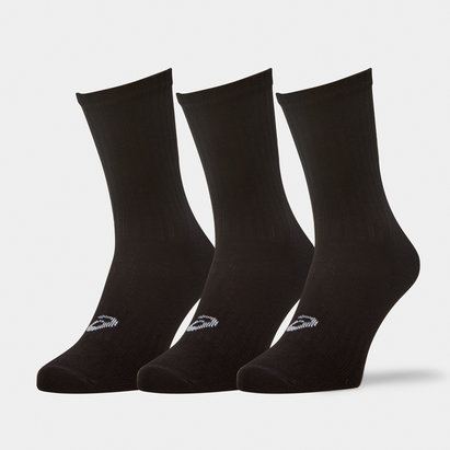 Asics Crew, Lot de 3 paires de chaussettes d'entrainement
