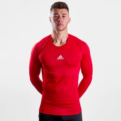 adidas Alphaskin Sport, T-shirts de compression, manches longues