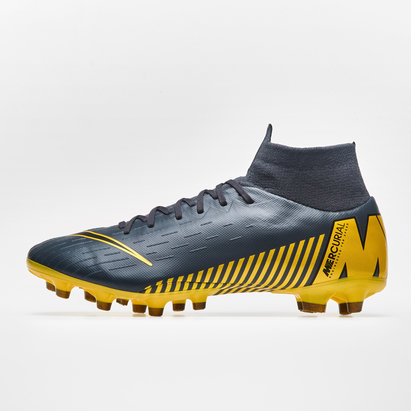 Nike Mercurial Superfly VI, Crampons de Football Pro, Terrain synthétique