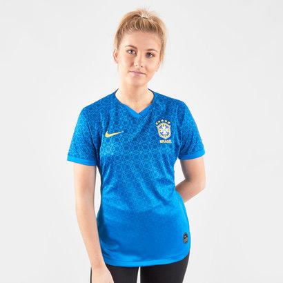 Nike Maillot extérieur manches courtes de l'Equipe de Football féminin du Brésil 2019