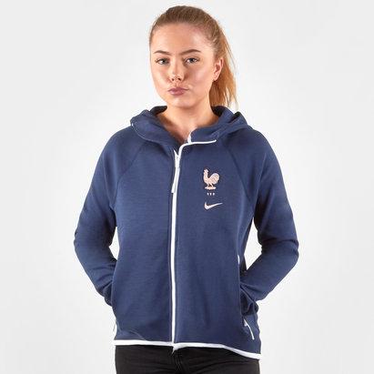 Nike Veste pour femmes Tech Fleece équipe de France Féminine 2019