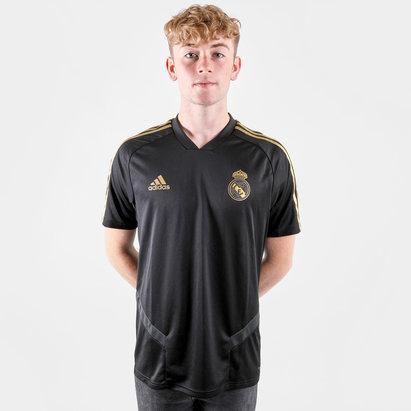 adidas Maillot d'entrainement de Football des joueurs du Réal Madrid 2019/2020, taille enfant