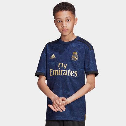 adidas Maillot de Football réplique Real Madrid 2019/2020 extérieur, pour enfant