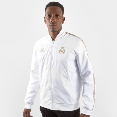 adidas Veste joueurs de Football Anthem du Réal de Madrid 2019/2020