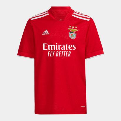 adidas Benfica Home Shirt 2021 2022 Junior