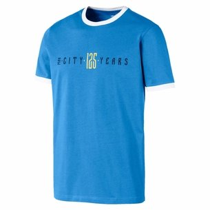 Puma Man City T Shirt Mens