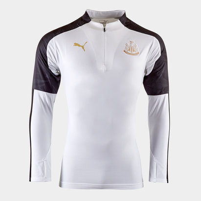 Puma Newcastle United 19/20 Kids 1/4 Zip Training Top