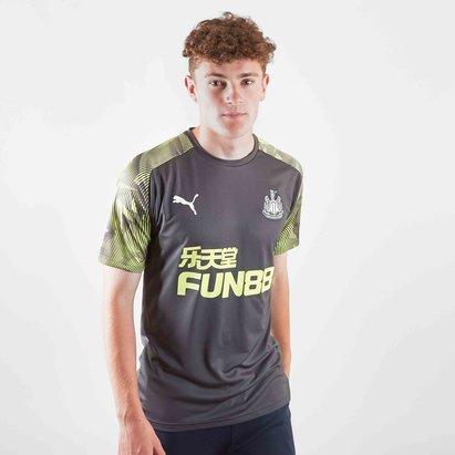 Puma Newcastle United 19/20 Players S/S Football Training Shirt