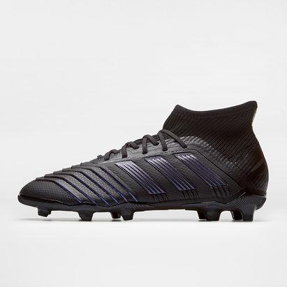 adidas Crampons de Football pour enfant, Predator 19.1, terrain sec