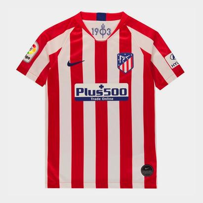 Nike Atletico Madrid 2019/2020 domicile, Réplique Maillot de Football pour enfants