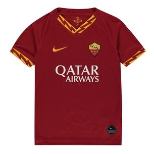 Nike AS Roma 2019/2020 domicile, Réplique manches courtes du maillot de Football pour enfants
