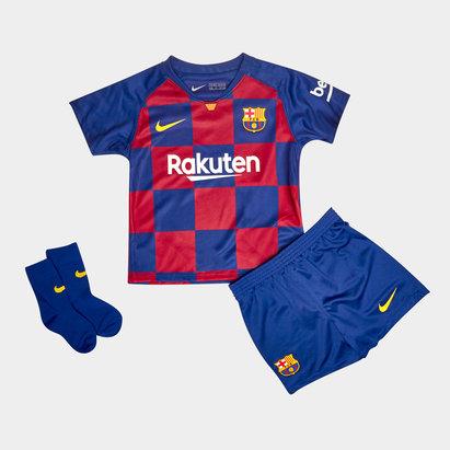 Nike FC Barcelone 2019/202 domicile, Tenue de Football complète pour enfants