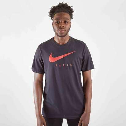 Nike T-shirt d'entrainement de football Dri Fit, Paris Saint Germain 2019/2020