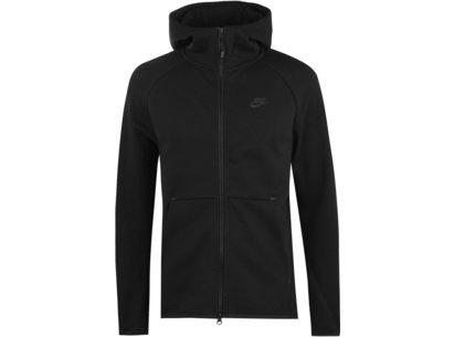 Nike Sweatshirt à capuche avec zip intégral Tech Sportswear