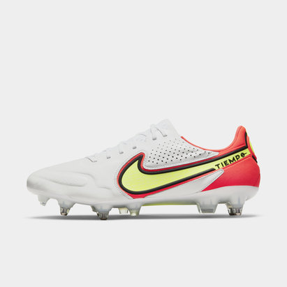 Nike Tiempo Legend VIII Elite, Crampons de football Pro pour terrain synthétiques