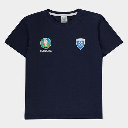 UEFA Euro 2020 Scotland Core T Shirt Junior Boys