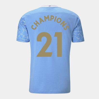 Puma Manchester City Champions Home Shirt 2020 2021