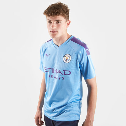 Puma Maillot de Football Authentique Joueurs, Manchester City Domicile 2019/2020