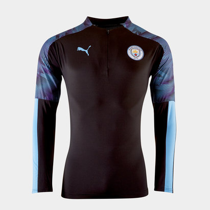 Puma Veste 1/4 de zip, Manchester City 2019/2020