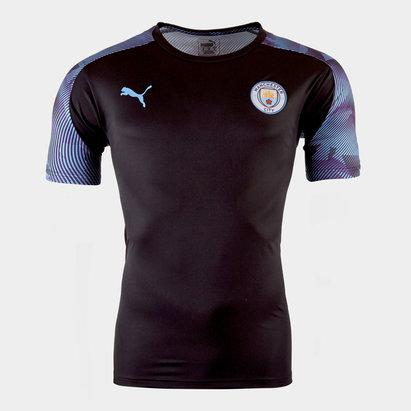 Puma Maillot d'entraîenement Joueurs, Manchester City 2019/2020 pour enfants