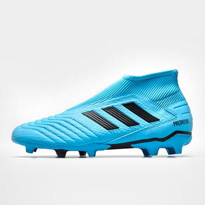 adidas Predator 19.3 FG, Crampons de Football Sans lacets