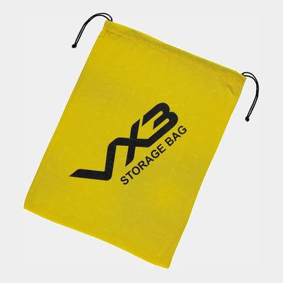 VX-3 Sac de rangement jaune pour 3 dossards