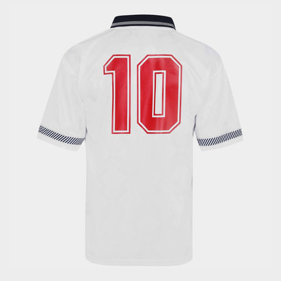 Score Draw England 1990 Home Shirt With Printing