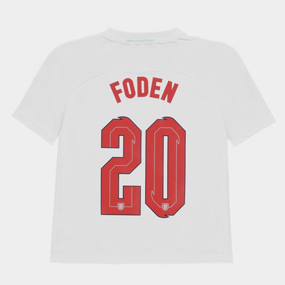 UEFA England Euro 2020 Polyester T Shirt with Printed Name Junior