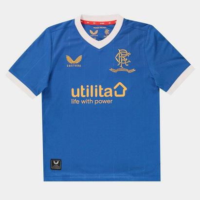 Castore Rangers Home Shirt 2021 2022 Juniors
