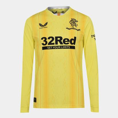 Castore Rangers Home Goalkeeper Shirt 2021 2022
