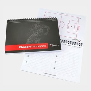 Precision Training Carnet Pro Coach de Foot Format A5