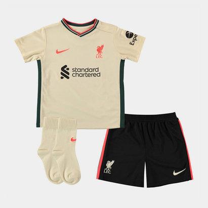 Nike Liverpool Away Baby Kit 2021 2022
