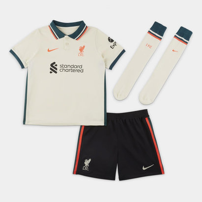 Nike Liverpool Away Mini Kit 2021 2022