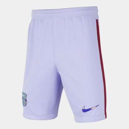 Nike Barcelona Away Shorts 2021 2022 Junior