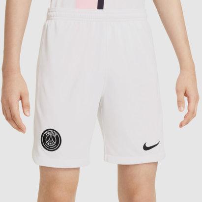 Nike Paris Saint Germain Away Shorts 2021 2022 Kids