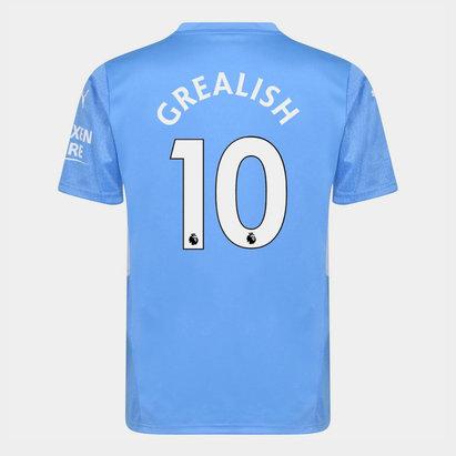 Puma Manchester City Jack Grealish Home Shirt 2021 2022