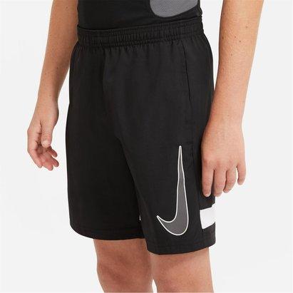 Nike Dri FIT Academy Big Kids Graphic Soccer Shorts