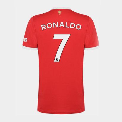 adidas Manchester United Home Ronaldo Shirt Kids